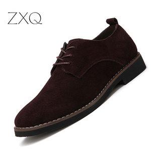 Plus Size 38-48 Oxford Men Sho