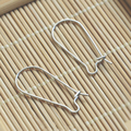 Clasp Earring Real 925 Sterling Silver Earrings Hooks Accessories Components Earrings Findings Connectors 5pairs/Lot