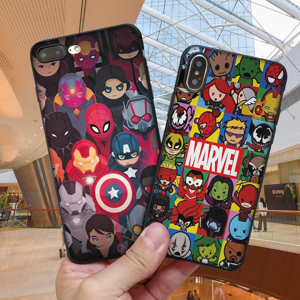 Legal luxo batman silicone tpu casos para iphone 6 6 s 7 8 plus 5 5S se para iphone x xr xs max