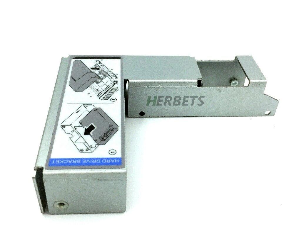 HERBETS 9W8C4 Y004G 3.5 to 2.5 Adapter for F238F/G302D/X968D SAS/SATA Tray Bracket