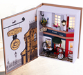 Handmade Doll House Furniture Miniatura Diy Doll Houses Miniature Dollhouse Wooden Toys For Children Birthday Gift Craft B005