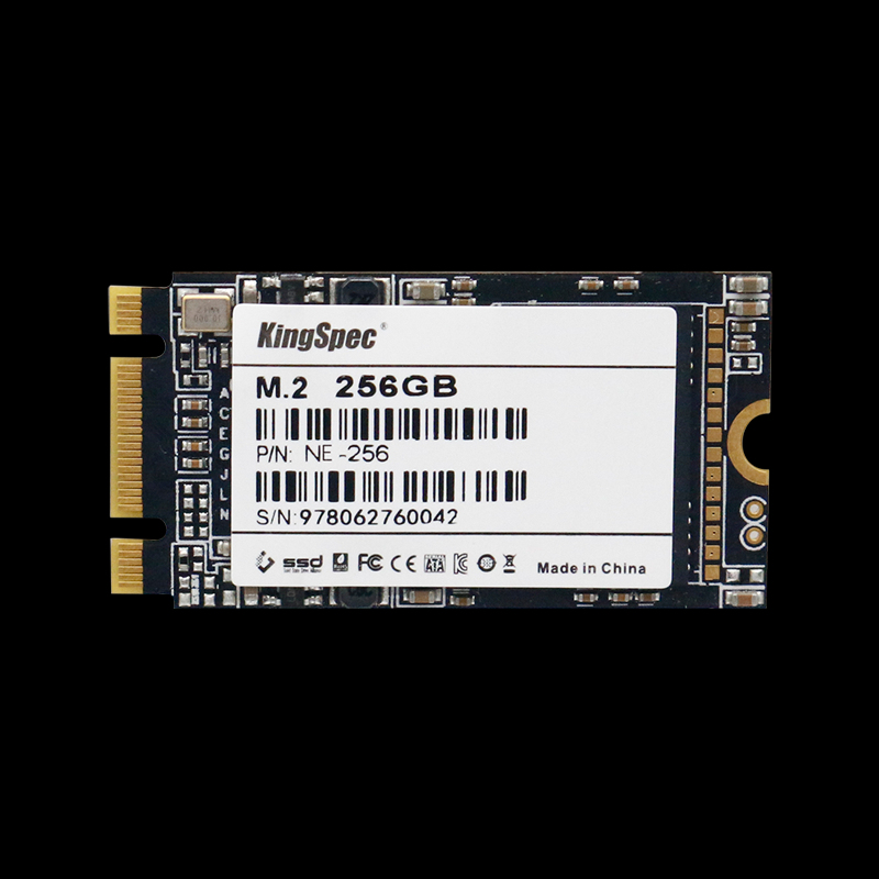 2019 NEW kingspec M.2 PCIE NVME 22*42 SSD 256GB Solid