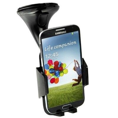 כוס יניקה המכונית למתוח מחזיק עבור Samsung Galaxy S IV / i9500 / N7100/ Z10 / HTC / נוקיה / אחר טלפון נייד