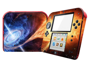 Image 2 - Natural Amazing Star Sky Vinyl Skin Sticker Protector for Nintend 2DS Stickers Decals