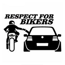 Car Sticker 3D  Respect for Bikers Auto Stickers