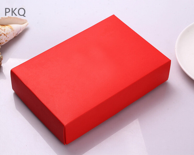 18x12x4cm large red rose red kraft paper cardboard craft gift wig