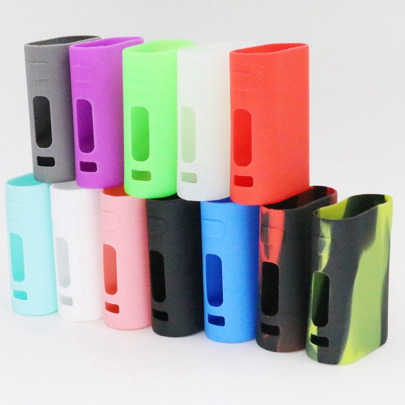 Fashion Silicone Case Sleeve Colorful Protective Cover Skin Suitable For Eleaf IStick Pico Kit 75w Box Mod 12 Colors