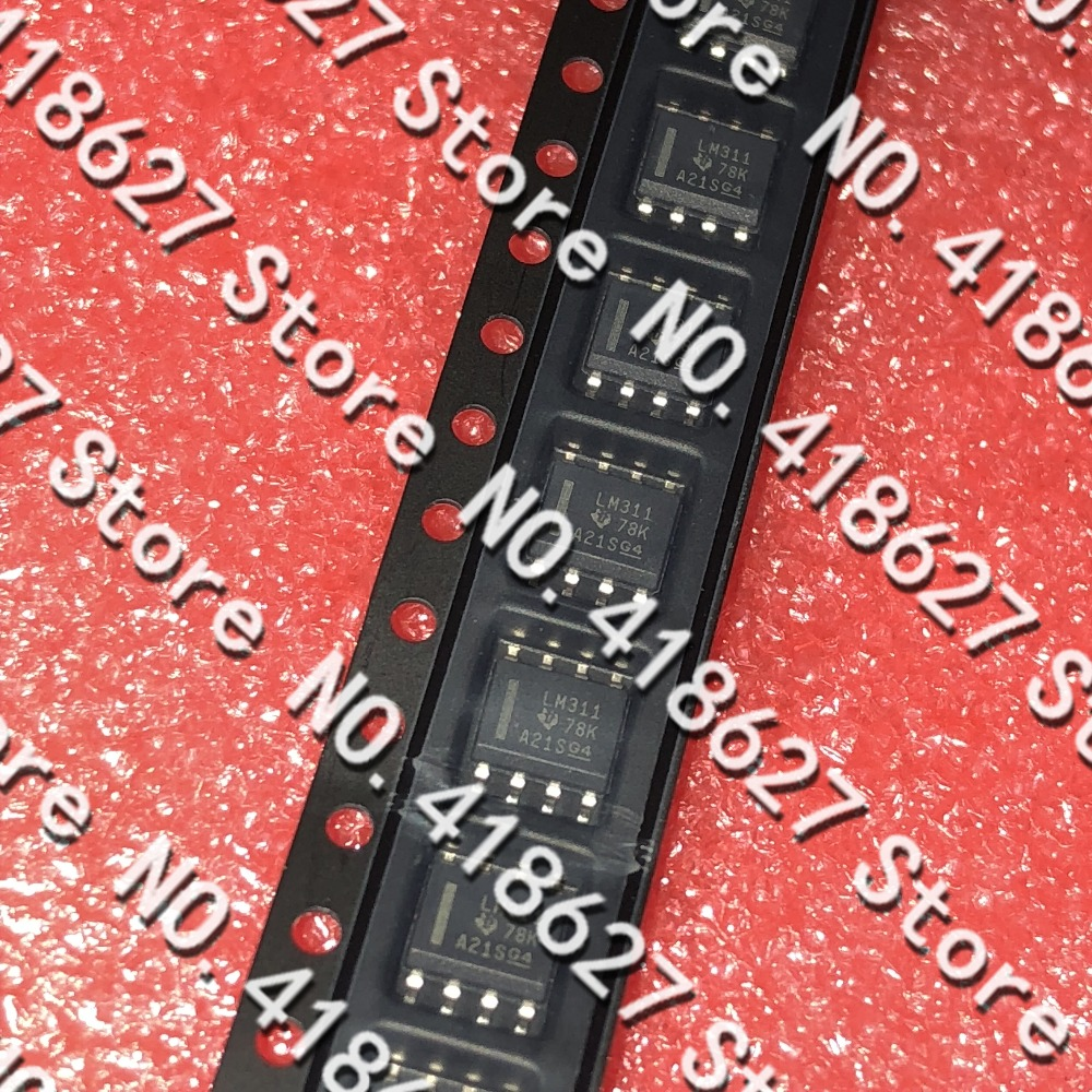 50PCS/LOT LM311DR LM311 SOP-8 Analog comparator