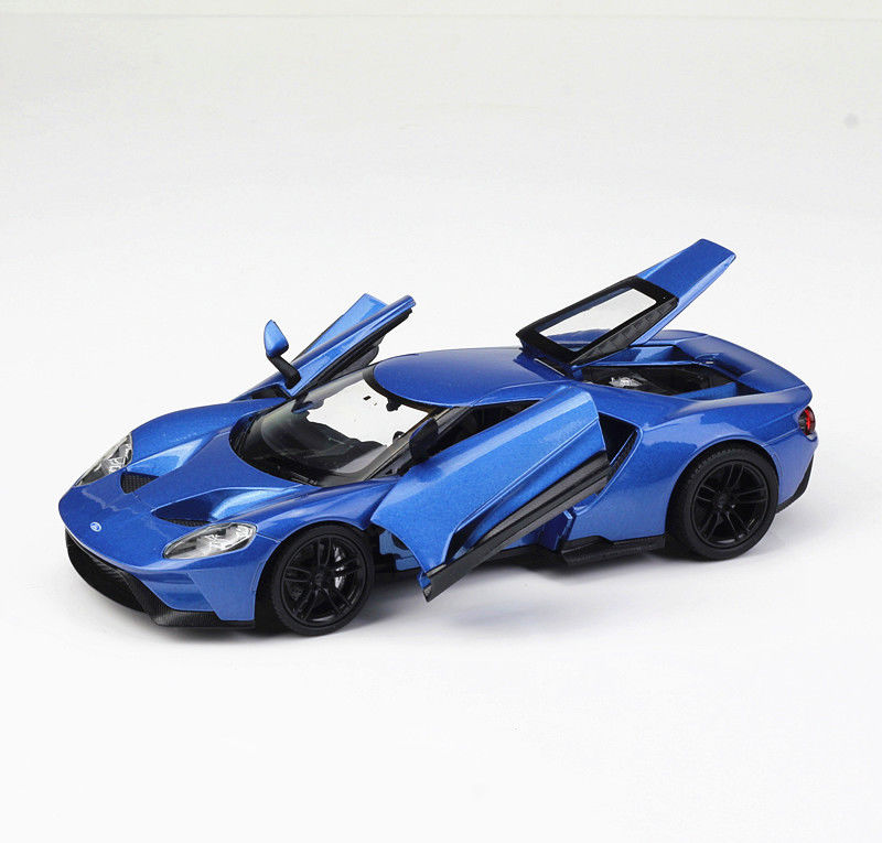 Welly 1:24 2017 Ford GT Concept Diecast Model Sports