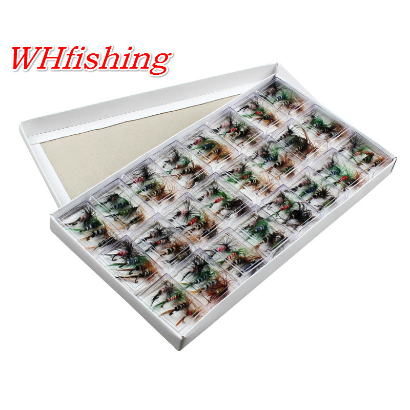 WHFishing Lures Fly Fishing Hooks Butterfly Insects Style Salmon Flies Trout Single Dry Fly Fishing Lure Fishing Tackle тушь для ресниц max factor excess volume extreme impact 01