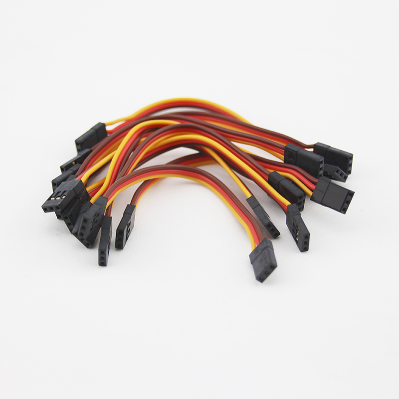 10pcs Flight Control Connection Cable Male To Male 26 26awg30 Cores Jr Futaba Flat Servo Cable 10cm 15cm In Parts Accessories From Toys Hobbies On
