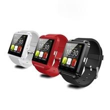 2 stücke smartwatch u8 bluetooth smart watch für apple für samsung android telefon relogio inteligente reloj smartphone uhr