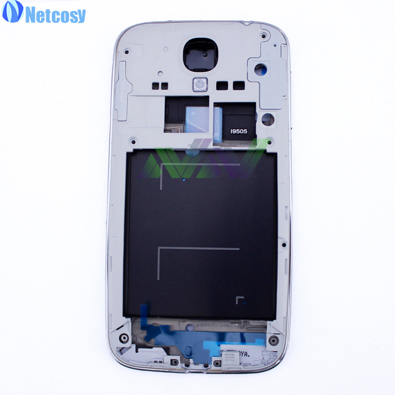 ᓂNetcosy Mid middle Frame Front Bezel Cover For Samsung s4 I9505 ...