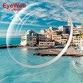Índice de 1.61 lentes de Resina UV400 Lente Óptica Reflective Coating Lens Optical Óculos Óculos para Miopia Presbiopia Reading quente
