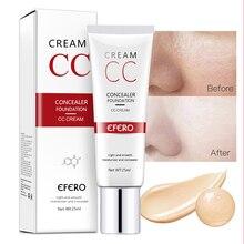 1PCS EFERO 25ml Concealer Cream Makeup for Face Spot Waterproof Foundation Eye Corrector Make Up Cosmetic