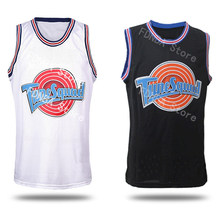 4160f30c5 Space Jam Bugs 1 Lola 10 Murray 22 Jordan 23 Tune Squad Looney Toones Movie Basketball  Jersey Throwback Stitched Jersey Shirts
