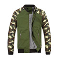 Jacket Men 2017 New Spring Mens Jacket Fashion Jacketmen Cotton Outerwear Coats Patchwork Military Camouflage Jacket For Men