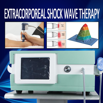New Effective Physical Pain Therapy System Acoustic Shock Wave Extracorporeal Shockwave Machine Shockwave Therapy