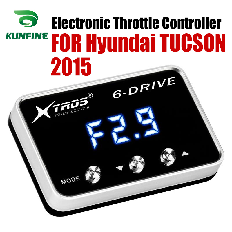 Car Electronic Throttle Controller Racing Accelerator Potent Booster For Hyundai TUCSON 2015 Tuning Parts Accessory|Car Electronic Throttle Controller| |  - title=