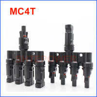 50pairs x MC4 Connector male female 30A 1000V 4T Branch MC4 Solar Panel PV Cable 2.5/4/6mm2 14AWG 10AWG Free Shipping