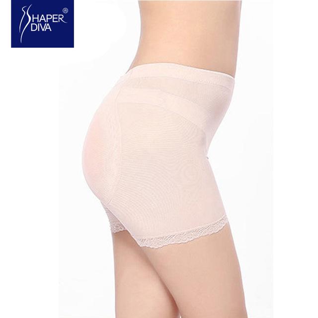 Shaper diva Lace Panties Silicone Butt Pads Sexy Underwear Women Slimming Body Shaper Butt Lifter Women Underwear Panties