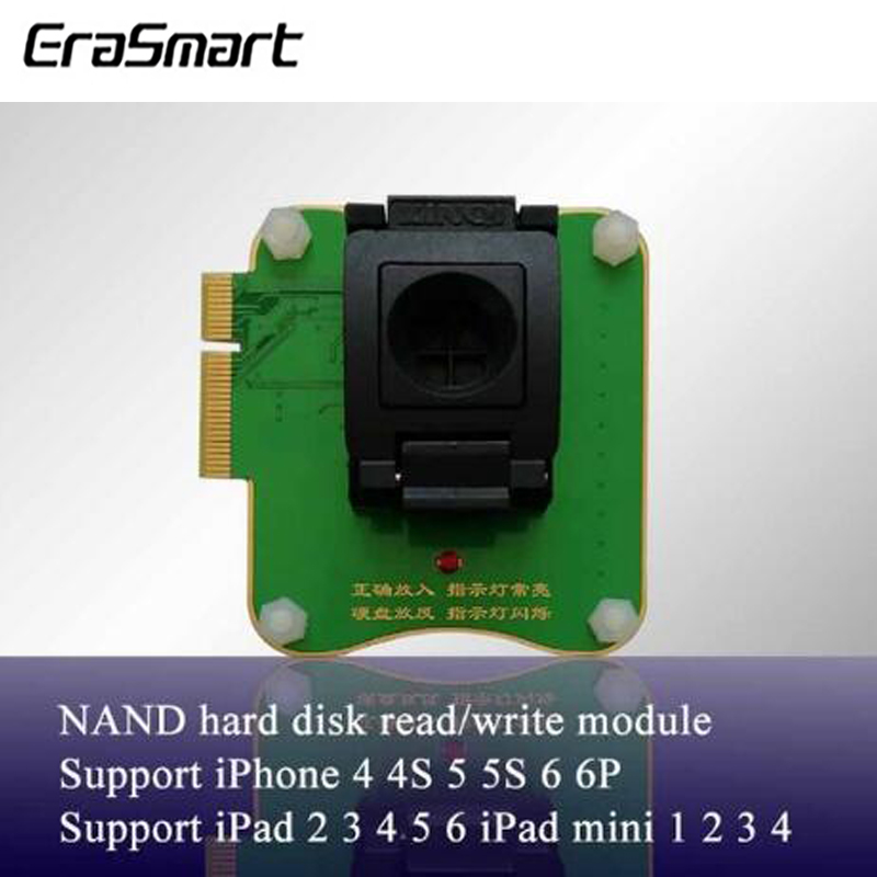 Multi-Function <font><b>NAND</b></font> Flash Programmer 32/64 Bit Hard Disk <font><b>NAND</b></font> Read Write Module For iPhone iPad Repair(Use For <font><b>JC</b></font> Pro1000S ) image