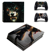 The Witcher 3 PS4 Pro Skin Sticker Sony PlayStation 4 Pro Console and Controllers PS4 Pro Skin Stickers Decal