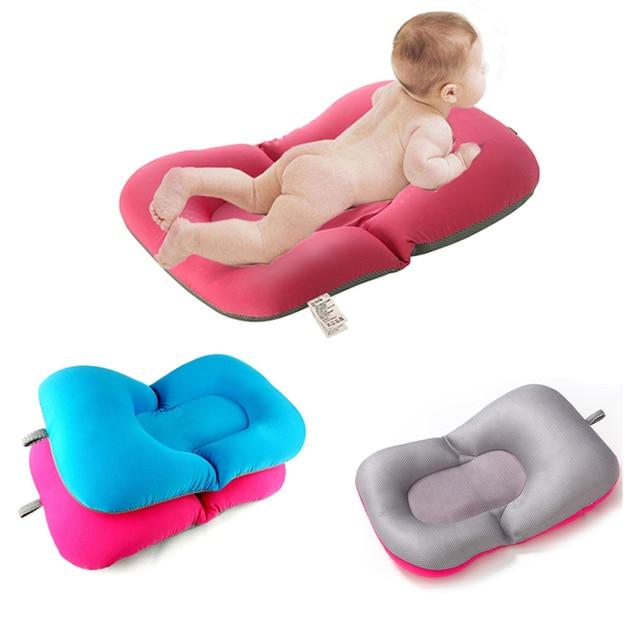 Non slip Bath Baby Bath Mat Foldable Bathtub Seat Soft Liner ...