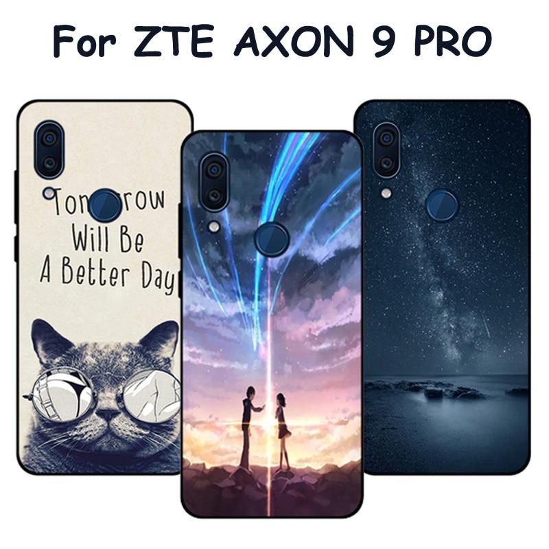 Case For ZTE AXON 9 PRO A2019 Pro Cases Starry sky Soft Back Cover For ZTE AXON9 Pro Phone shell Case A2019Pro fundas coque 6.21