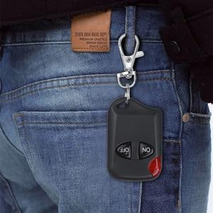 Image 5 - Universal 433MHz Remote Control Wireless 2 Button For Gate Garage Door Keychain Duplicator 2 Keys RF Remote Controller Latest