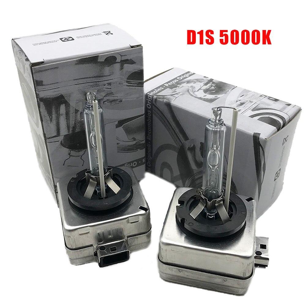 2PCS NEW 2PCS 35W D1S D1R D2S D2R D3S D4S D4R Xenon HID Bulb 4300K 5000K 6000K HID Xenon Lamp D2S Xenon Bulb For V W Audi SKODA