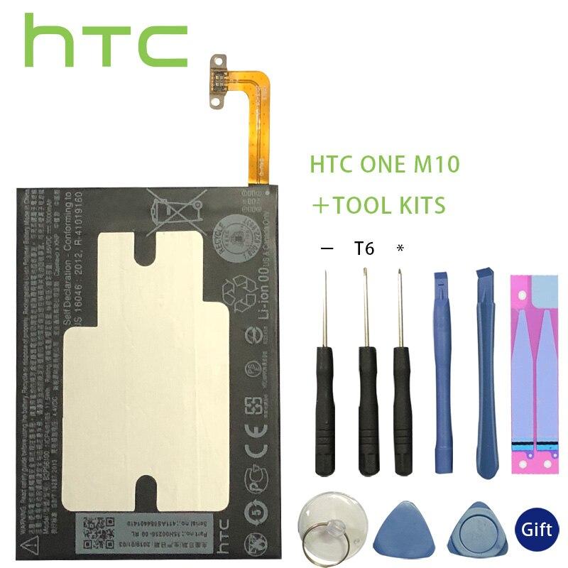HTC Original 3000mAh B2PS6100 Phone Battery Fit For HTC One M10 10/10 Lifestyle M10H Batterie Bateria Batterij+Tools