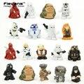 2.5 cm 18 unids/set Star Wars PVC Mini Figura de Acción de Colección Modelo de Juguete