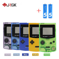 GB BOY retro classic game built in 66 game color screen Tetris video game connected TV handheld game console with 2 batteries