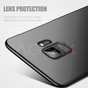 Image 5 - NAGFAK 高級マットハード電話ケース S9 S9Plus S8 S8Plus S7 S6 エッジカバー超薄型 Pc プラスチック電話バッグケース