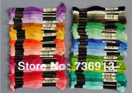 Длина ниток на вышивку