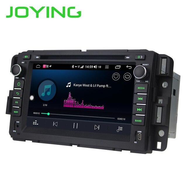 JOYING 4G + 64G android 8.1 Octa Core autoradio stéréo de voiture pour Chevrolet Traverse GPS Navi unité principale pour Chevrolet Tahoe/banlieue