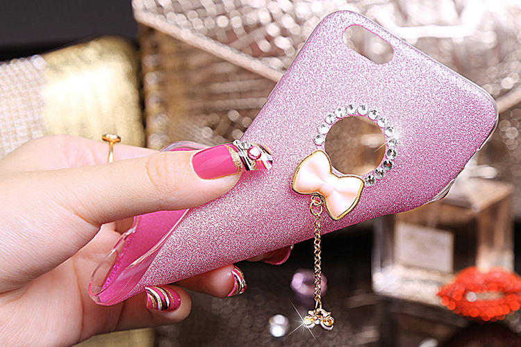 YESPURE Bling Gliter Lovely Bowknot Phone Case Cover Girl for Iphone - Ανταλλακτικά και αξεσουάρ κινητών τηλεφώνων - Φωτογραφία 4