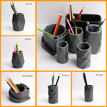 Silicone Pot mold Concrete flower pot moulds custom design cement molds