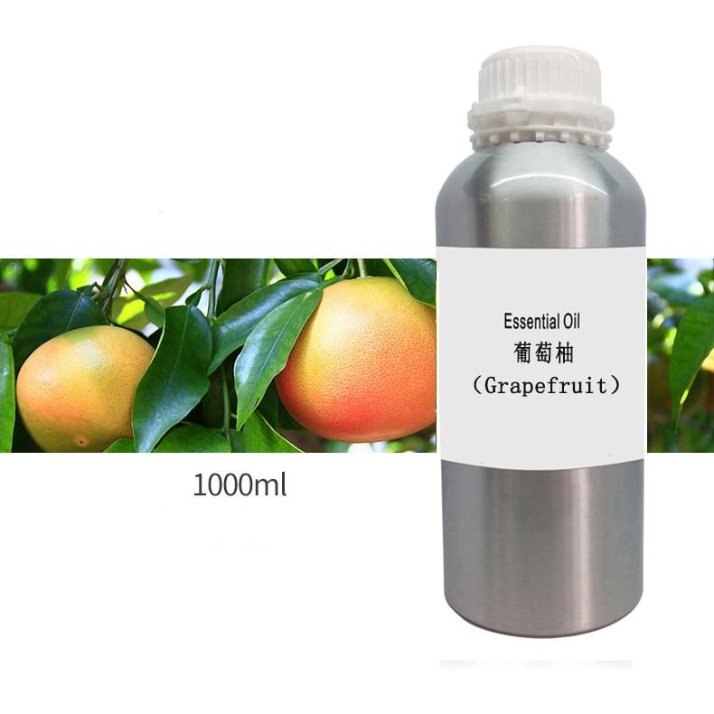 Укрепляющее улучшение дрябби глубоко очищает грейпфрут 100% чистое эфирное масло 1000 мл для похудения красота уход за кожей Специальные масла