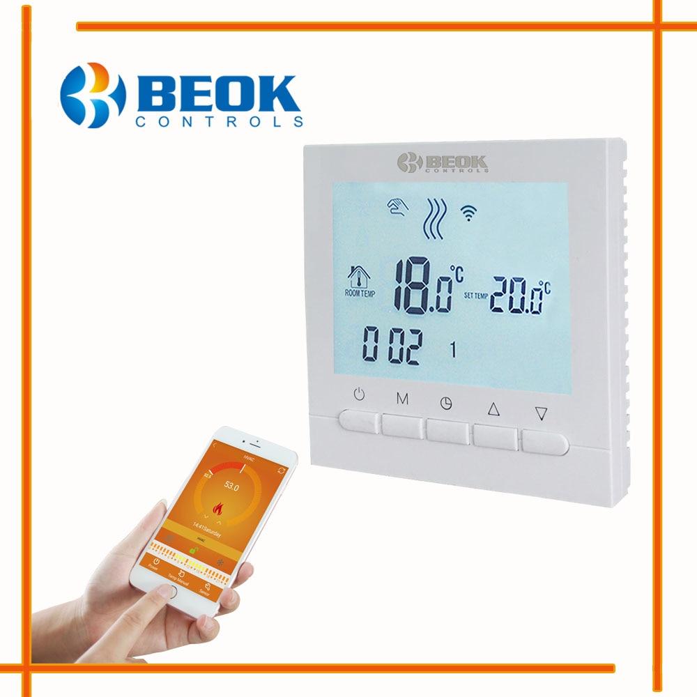 טמפ מכשירים - Programmable Room Heating Boiler WIFI Thermostat ...