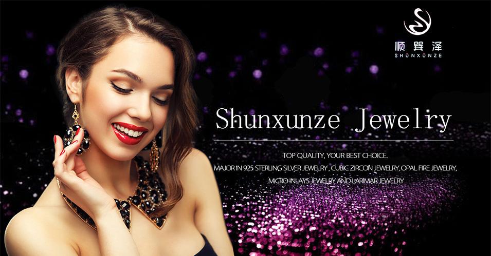 новые поступления shunxunze белого cubic zirconia с голубой опал ювелирные изделия и аксессуары для женщин радий р159 размер 6 7 9