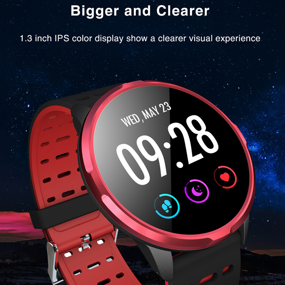 """Image 2 - Virtoba CN88 Smart Watch 1.3"""" Color Display Activity Fitness Tracker Blood Oxygen Blood Pressure BRIM Men Women Smartwatch PKV11-in Smart Watches from Consumer Electronics"""