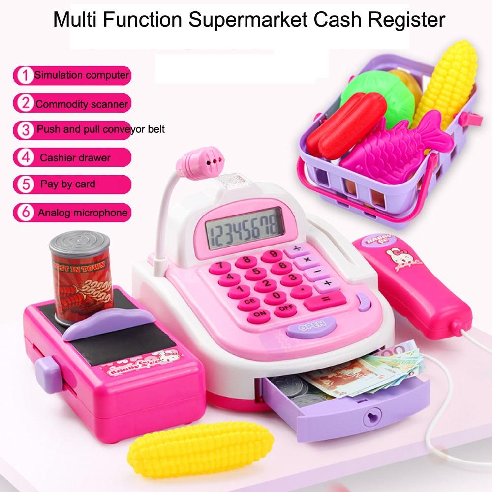 Sylvanian Families Furniture Bolls Children Kids Pretend Play Electronic Cash Register
