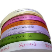 free shipping customized gift packing ribbon tape/clothing printed labels tags/silk satin printing/hair extension