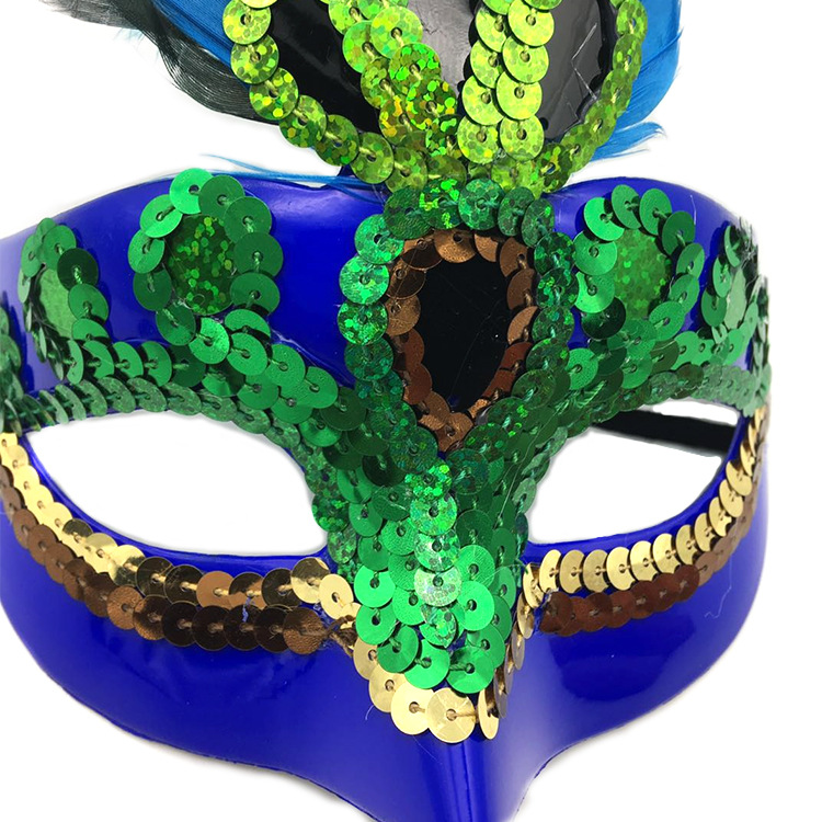 Mode Pfau Maske Frauen Mädchen Geburtstag Party Cosplay Maskerade Dance Bar Karneval Weihnachten Halloween Halbe Gesicht Auge Maske