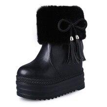 2018 modische baumwolle schuhe, frauen extra high heels, kurze stiefel,  schnee stiefel, 05cbff8c38