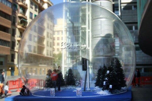 T357 Бесплатная доставка + воздуходувки Надувной Пузырь Номер Прозрачный Шатер пузыря/Прочный Фото Снежный шар Для Рождественских День Семьи весело
