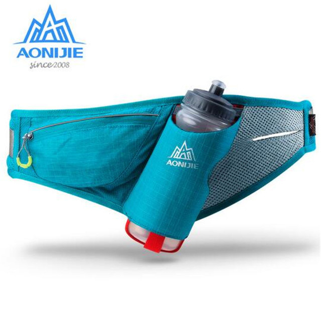 AONIJIE Sports Marathon Hydration Belt Running Free Running Accessories Water Belt Fanny Pack Men Women Waist Packs