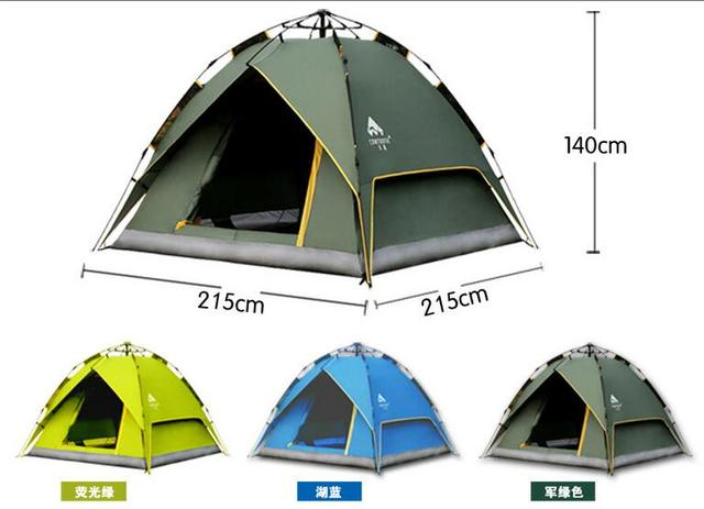 CONTOOSE 2 Person Hiking Tent Pro 20D Silicone Fabric Wateproof Single Pole Light Tent NH C&ing  sc 1 st  AliExpress.com & CONTOOSE 2 Person Hiking Tent Pro 20D Silicone Fabric Wateproof ...